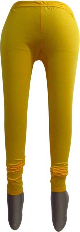 Revinfashions Legging(Yellow, Solid)