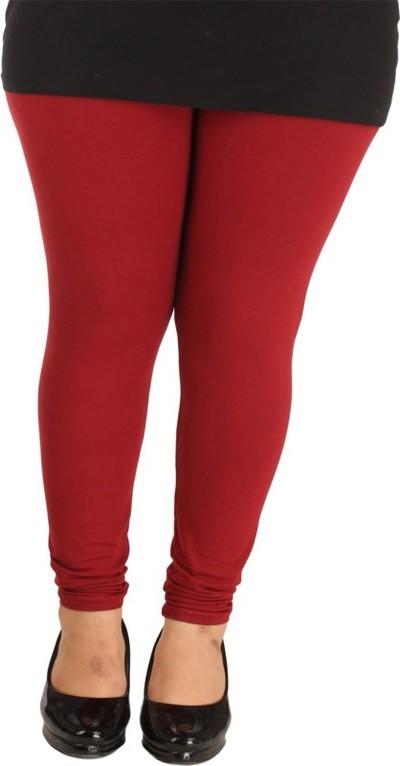Lady in Red Legging(Maroon, Solid)