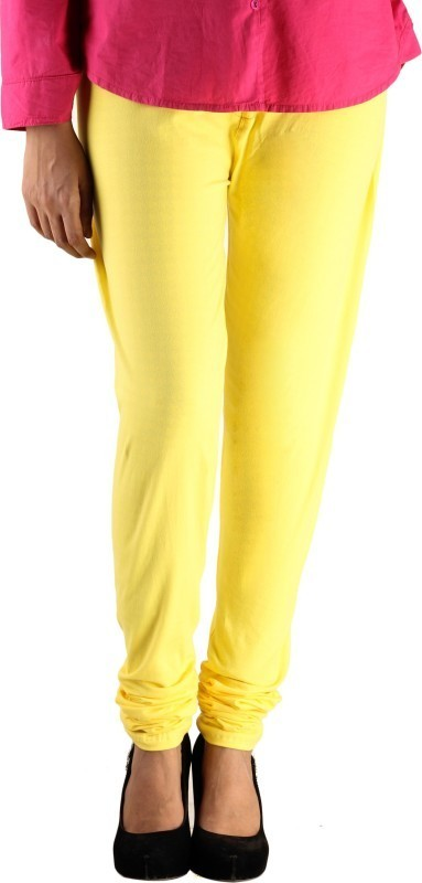 Lady in Red Legging(Yellow, Solid)