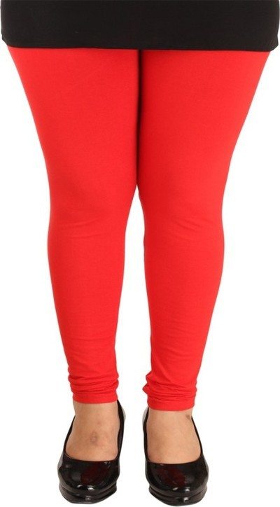 Lady in Red Legging(Red, Solid)