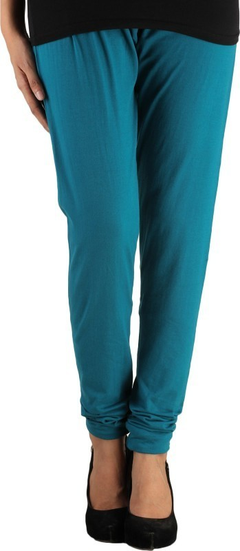 Lady in Red Legging(Blue, Solid)