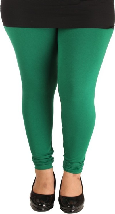 Lady in Red Legging(Dark Green, Solid)