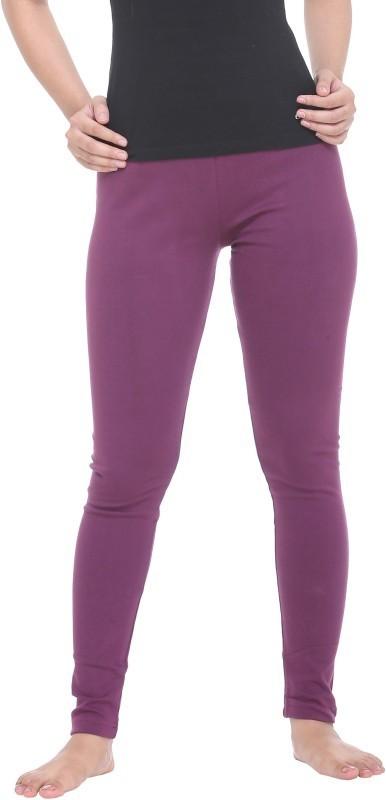 Colors & Blends Legging(Purple, Solid)