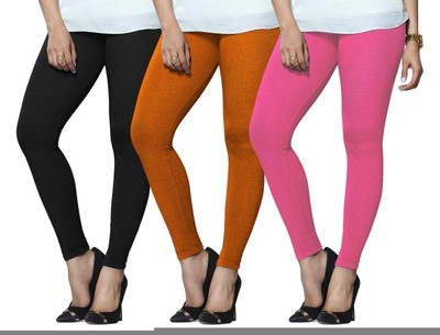 bd4b0ddad8a580 Lux Lyra Legging(Black, Orange, Pink, Solid)