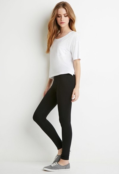 Stylo Fashion Garments Legging(Black, Solid)